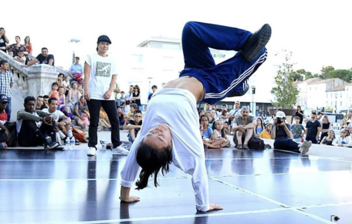 JO 2024 Pairs breakdance fanny bouddavong